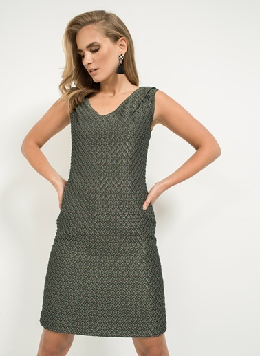 Jakarlı Elbise-People By Fabrika